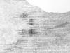 Palimpseste ecriture photocopie et reecriture sur papier.
