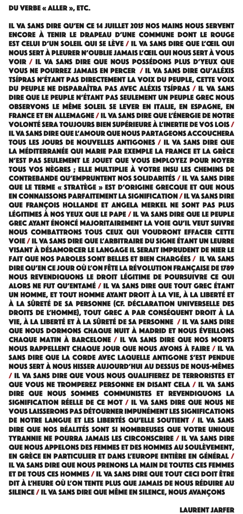 Laurent jarfer